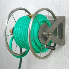 wall mounted hose reel with
