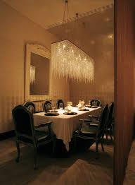rectangular dining room lights. Rectangular Chandelier Lighting Dining Room Contemporary With Simple Crystal Lights A