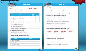 Word Test 3 Sats Smasher Mini Test 3 Grammarsaurus