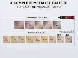 Majirel High Lift Shade Chart Majirel Metallics K G Hairdressing Supplies