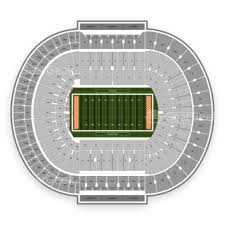 Map Of Tennessee Football Seating Map Free Download