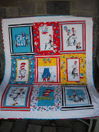 445 best Dr Seuss quilts images on Pinterest | Quilt block ... & A baby quilt made out of Dr. Seuss fabric -- how cute is that? Adamdwight.com