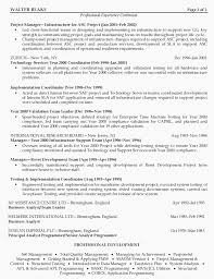 Resume Examples For Security Manager Project Manager Resumes