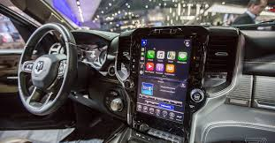 The <b>new</b> 2019 Ram 1500 has a massive <b>12</b>-<b>inch</b> touchscreen display