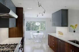 upper cabinet lighting. Luxurious Modern Kitchen Grey Upper Cabinets Is Custom Wood Cabinets, Eat In And Undermount Cabinet Lighting