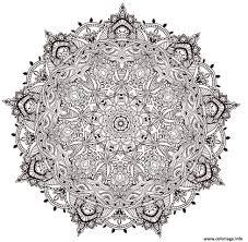 Coloriage Mandala Adulte Anti Stress 2017 Dessin