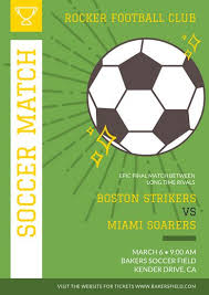 soccer field templates customize 30 soccer poster templates online canva