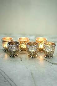 votive candle holders bulk whole holder candles with glass beautiful mercury gold