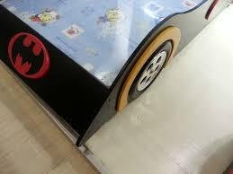 Kids Racing Car Bed Single Size Children Bedroom Furniture Kids Batman  Bedding | eBay