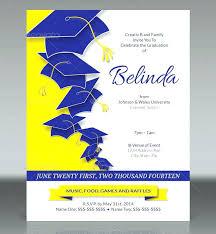 Luxury Graduation Party Invitations Template And Invitation