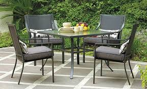 garden patio furniture. Amazon.com: Gramercy Home 5 Piece Patio Dining Table Set: Garden \u0026 Outdoor Furniture