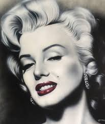 marilyn monroe painting large oil on canvas marilyn monroe painting signed and dated for