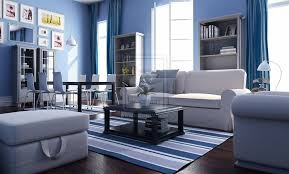 Nautical Living Room Design Exclusive Decor White Blue Theme Living Room Interior Decoracia3n