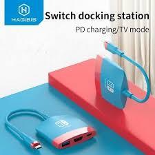 <b>Hagibis Switch Dock TV</b> Dock for Nintendo Switch Portable Docking ...