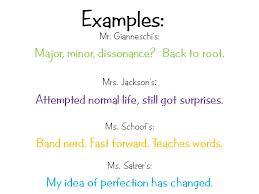 lavilla th grade language arts your life story in six words  your life story in six words
