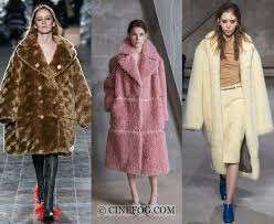 msgm outerwear fall winter 2017 2018 fashion trends faux fur oversized coats