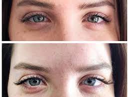 getting eyelash extensions