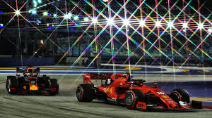 F1 Lights Out Game Live Coverage Formula 1 2019 Singapore Airlines Singapore