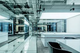 gallery office glass. Glass Office SOHO China,© Jerry Yin Gallery A