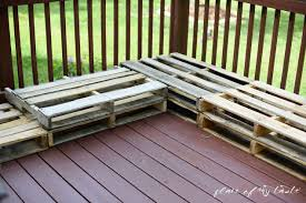 pallet patio furniture. Diy Pallet Furniture Patio Makeover, Diy, Outdoor Furniture, Living, Painted