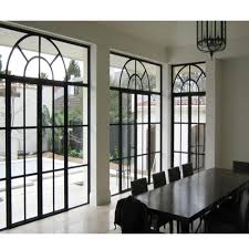 Steel Window Grill Simple Design New Simple Iron Window Top Round Steel Window Grill Design Double Glazed Iron Casement Windows Doors Frame Buy Wrought Iron Window Iron Grill