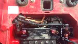 fixing my four wheeler wiring youtube 1995 honda fourtrax 300 wiring diagram at Honda 300 Atv Wiring Diagram