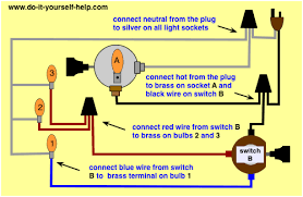 bulb wiring diagram bulb wiring diagrams lamp switch wiring diagrams do it yourself help com