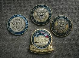 presidential challenge coin undergoes a trumpian makeover