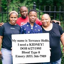 To Donate Terrance Hollis a Kidney - Posts | Facebook