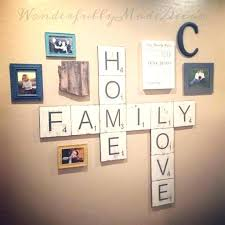 large scrabble letters for wall art australia letter decor designs metal scroll with b giant novelty solid oak scrabble letters wall art