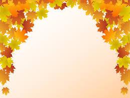 Autumn Leaf Frame Backgrounds Beige Black Border Frames