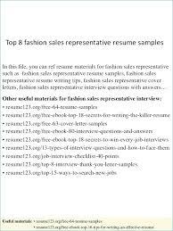 Outside Sales Representative Resume – Armni.co