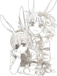 black butler coloring pages fresh easter with black butler kurosuji by cielcplay on deviantart