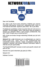 networking for a job network for a job kathleen conners 9781622170791 amazon com books