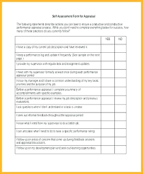 Words For Employee Evaluation Employee Appraisal Form Template Top Result Self Evaluation