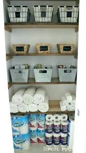 bathroom closet storage solutions shelving systems shelf linen ideas bathrooms licious