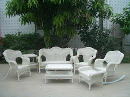 drop gorgeous stirring white wicker patio sofa photos design rattan dining table and chairs archived on