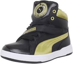 Puma Puma Dj 6S Jr 5 M Us Junior Black: Amazon.co.uk: Shoes & Bags
