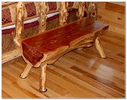 log furniture ideas. Rustic Log Furniture Bench Ideas G