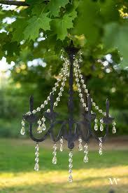 wedding decor chandelier