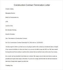 Letter Of Termination Of Contract Template Archives Southbay Robot