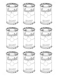 Small Picture Coloring Download Andy Warhol Coloring Pages Andy Warhol