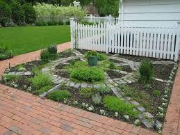 square herb garden