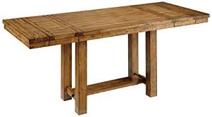 counter height rectangular table. Ashley Furniture Signature Design - Krinden Dining Room Table Counter Height Rectangular Light