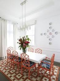 greg natale sydney based architects and interior designers love the pop of colour and the bamboo dining roomteak