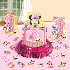Pink And Black Minnie Mouse Decorations Baby Minnie Mouse Decorations Ebay
