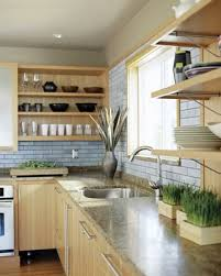 open kitchen cabinet might be a smart choice depending on situtation