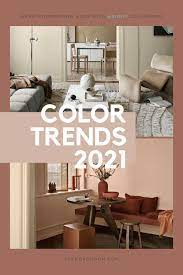 the color trends for 2021 warm