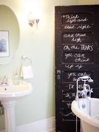 bathroom decor. transform your bathroom with diy decor hgtv