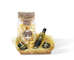 gift basket truffles and pasta